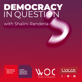 Cover for Democracy in Question